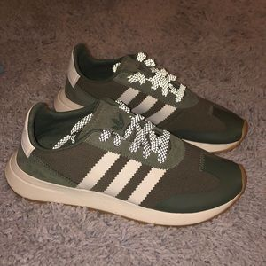 🌲Forest Green Adidas Shoes